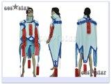 【コス★スター】BLAZBLUE ブレイブルー ν-13風 コスプレ(アニメ ゲーム コミケ 大きいサイズ対応 衣装 コススター)
