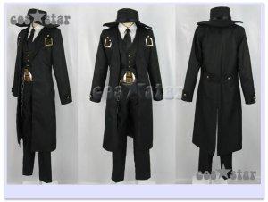 画像1: 【コス★スター製】BLAZBLUE ブレイブルー ハザマ風  コスプレ衣装 新品