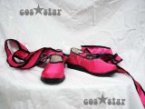 ★鉄拳5 リン・シャオロウ風 コスプレ靴 ブーツ